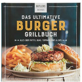 KOCHBUCH Butlers 20x20 Burger Grillbuch