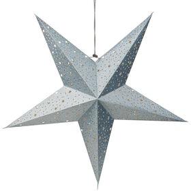 LATERNA MAGICA Stern silber/ Sterne
