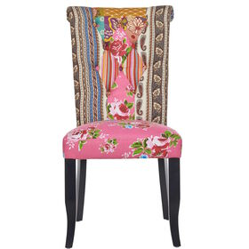 PATCH Patchwork Stuhl rosa