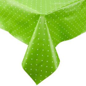 WATERPROOF Tischdecke110x110 Sterne grün