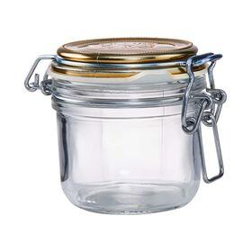 FIDO Aufbewahrungsglas 200 ml gold
