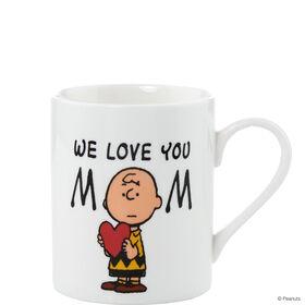 PEANUTS Tasse `We love you Mom'