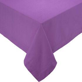 SOLID Tischdecke  140x140cm violett
