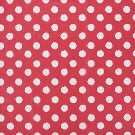 SURPRISE Seidenpapier rot/weiss Punke