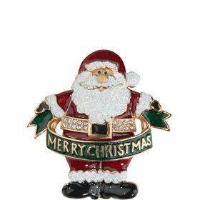 X-MAS Anstecker Weihnachtsmann