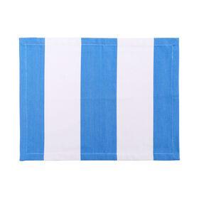 MIAMI BEACH Tischset 33x45 cm blau-weiß