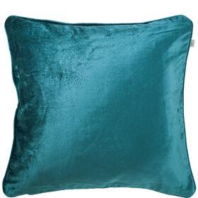 VELVETY Samtkissen 45x45 cm, smaragd