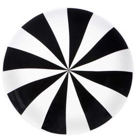 BLACK & WHITE Teller Strahlen