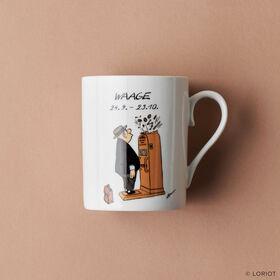 LORIOT Kaffeetasse Waage