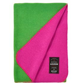 TWO TONES Decke 140x200cm grün/pink