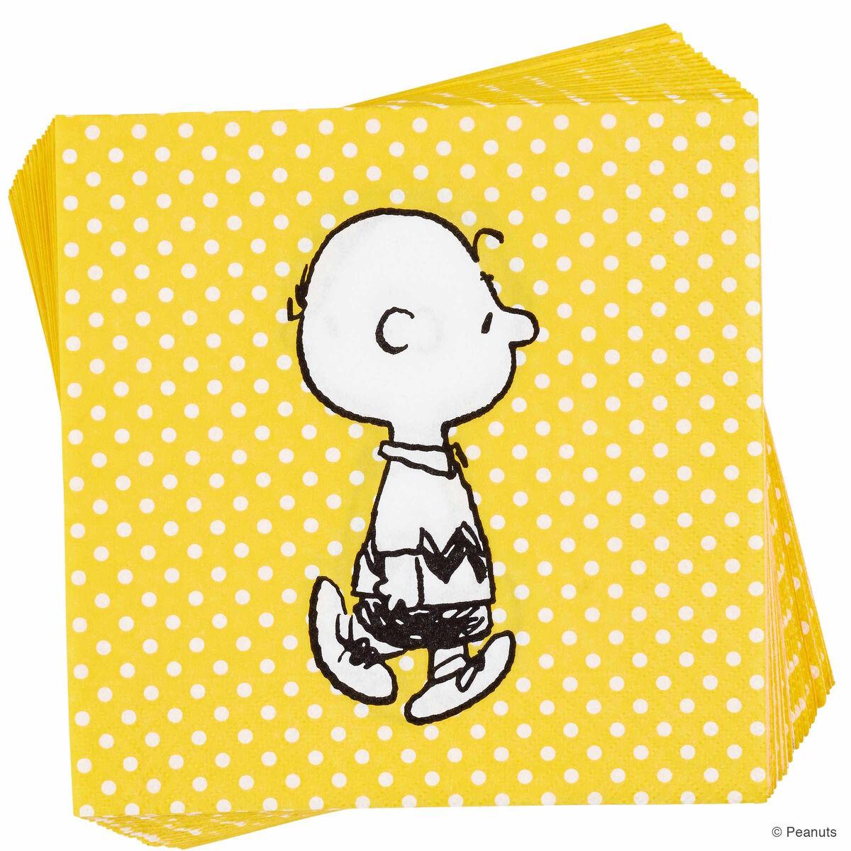 PEANUTS Papierserviette Charlie Brown  BUTLERS