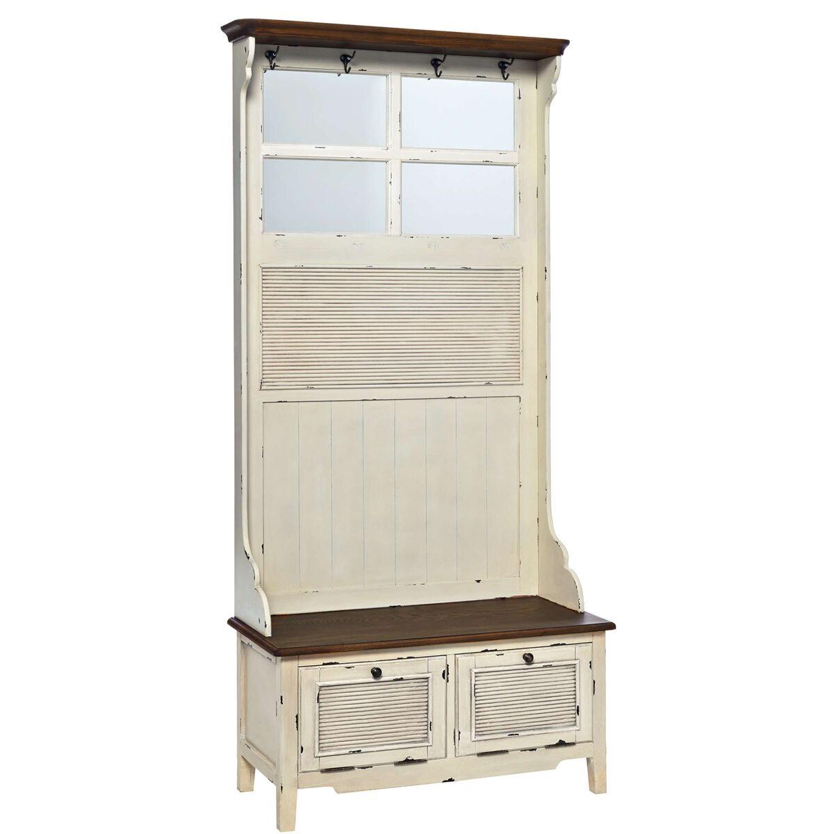 cabott cove garderobe mit spiegel butlers. Black Bedroom Furniture Sets. Home Design Ideas