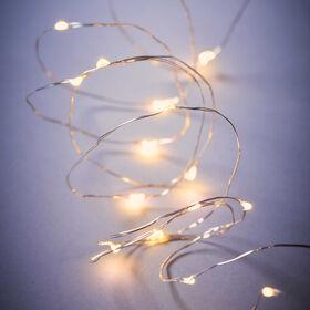 BRIGHT LIGHTS LED Lichterkette Draht 20L