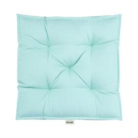 SOLID Sitzauflage 40x40 pastellblau