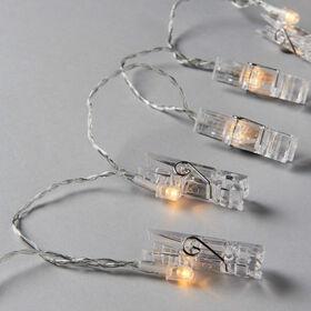 CLIP ART LED-Klammern transparent 10L