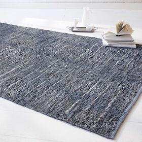 MIAVILLA Teppich Ramin grau 240 x 170 cm