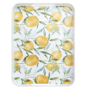 LEMON Tablett Zitrone 41x30 cm