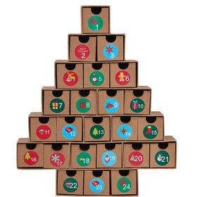 SURPRISE Adventskalender Schachteln Baum