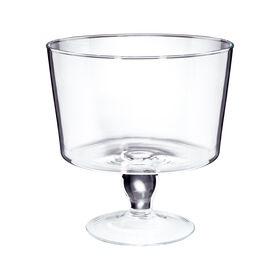 COUPE Glasschale mit Fuß Ø25cm