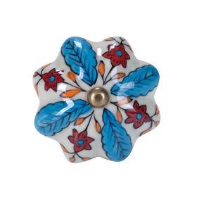 OPEN Möbelknopf Blumen&Blätter
