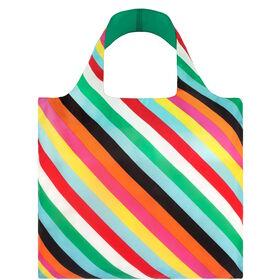 LOQI Einkaufstasche Streifen