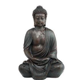 BUDDAH Deko Figur 40cm, braun