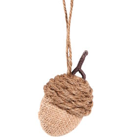 HANG ON Eichel aus Jute, 8cm
