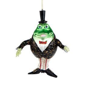 HANG ON Glas Frosch Dirigent H16cm