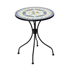 PALAZZO Tisch creme/blau