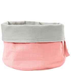 SPHERE Brotkorb Baumwolle pastell rosa