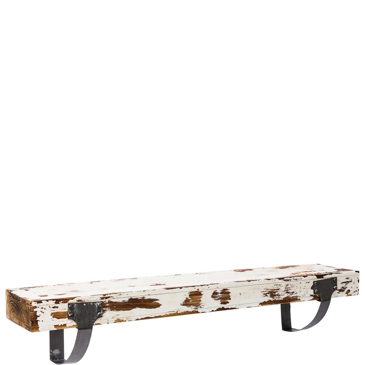 miavilla wandboard vintage wei 80 cm butlers. Black Bedroom Furniture Sets. Home Design Ideas