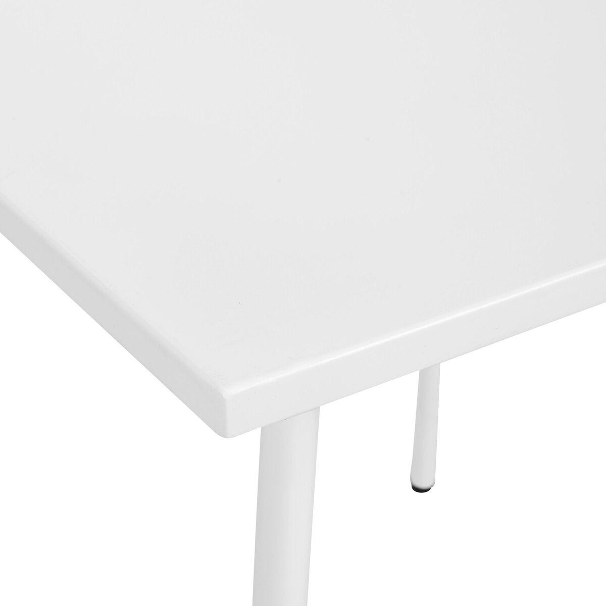 CARREFOUR Tisch 75x75 cm weiß