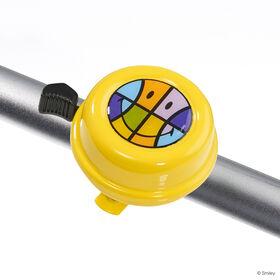 SMILEY Fahrradklingel 60mm, gelb
