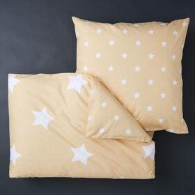 STARS Bettwäsche Set 135x200+80x80