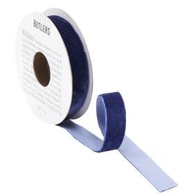 RIBBON Samtband 3m x 15mm blau