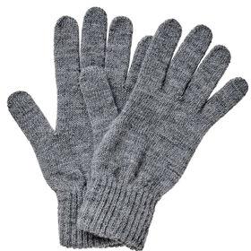 BOUTIQUE Strick Handschuhe grau