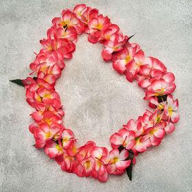 ALOHA Blumenkette Frangipani pink
