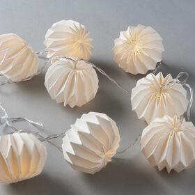 HANAMI LED-Papierlampions 8L weiß