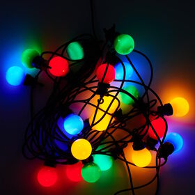 HAPPY HOLIDAYS LED LK Erw. Glühbirne 20L