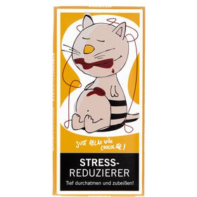 """GREETS """"Stressreduzierer"""" Schoko 100g"""