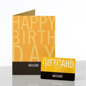 HAPPY BIRTHDAY Giftcard D