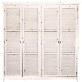 CABOTT COVE Kleiderschrank mit 4 Türen