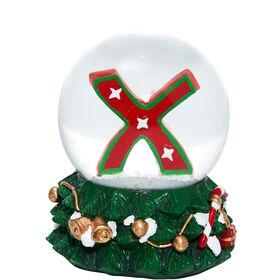 X-MAS Schneekugel X