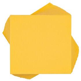 APRÉS Papierserviette 50 Stk gelb