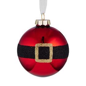 """HANG ON Glaskugel """"Santa"""" 8cm"""
