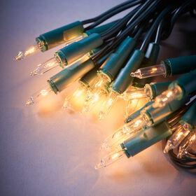 HAPPY HOLIDAYS Mini-Lichterkette grün20L