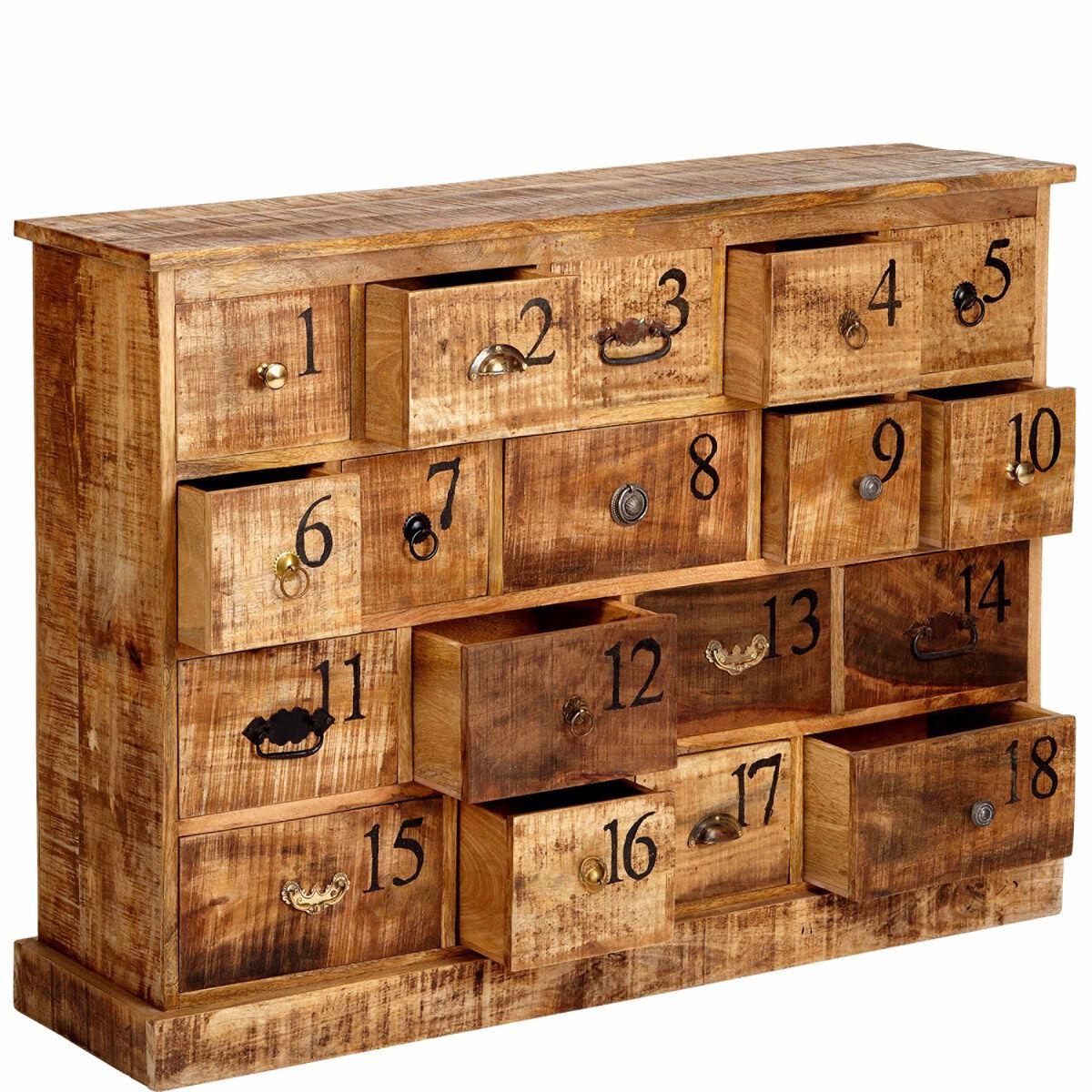 eighteen kommode mit 18 schubladen butlers. Black Bedroom Furniture Sets. Home Design Ideas