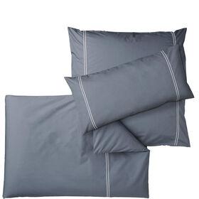 SPRINGFIELD Bettwäsche Set grau-weiß