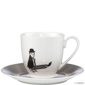 LORIOT Espressotasse mit Untertasse A