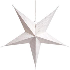 LATERNA MAGICA Stern silber Punkte Ø62cm